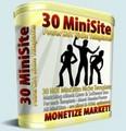 30 MiniSites Templates - Monetize Your Market