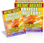 Thumbnail Instant Adsense Article Directory - Your Own Adsense Cash Cow With A Simple Article Directory