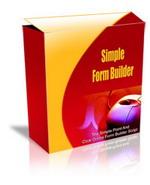 Thumbnail Simple Form Builder