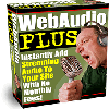 Web Audio Plus - Instantly Add Streaming Audio To Your Site With No Monthly Fees!
