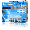 Instant Audio Creator - Adding Audio To Web Sites Within Minutes