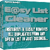 Easy E-Mail List Cleaner