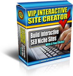 Thumbnail VIP Interactive Site Creator
