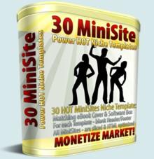 Product picture 30 MiniSites Templates - Monetize Your Market