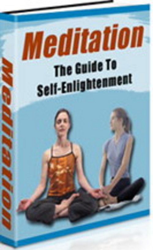 Product picture Meditation - The Guide to Self-Enlightenment