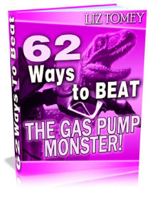 Product picture 62 Ways to BEAT The Gas Pump Monster - save money at the gas pump
