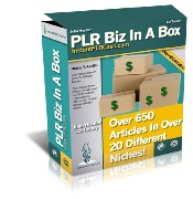 Product picture PLR Biz In A Box - Over 650 PLR Articles Is For You