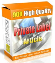 Product picture 900 Private Label Articles