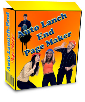 Product picture Auto Launch End - Change Your Pages Automatically