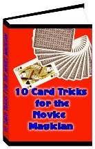 Product picture 10 Card Tricks for the Novice Magician