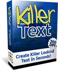 Product picture Killer Text - Create killer looking text in seconds!