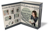 Product picture The Lost PhotoShop Actions - Create Images With 2 Easy Steps