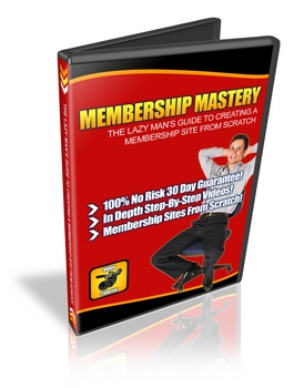 Product picture Membership Mastery - Lazy Mans Guide To Create A Membership