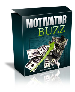 Product picture Motivator Buzz - Motivate Your Web Visitors To Skyrocket You