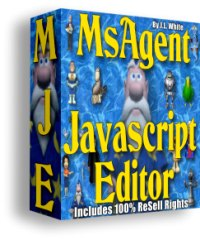 Product picture MsAgent Javascript Editor