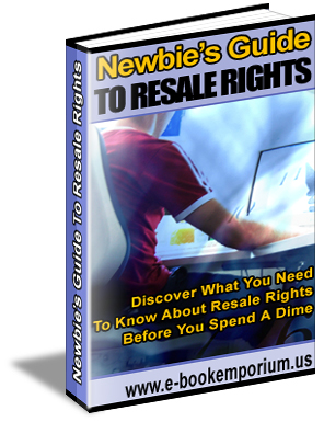 Product picture Newbies Guide To Resale Rights