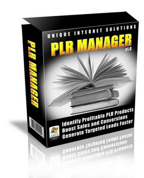 Product picture PLR Manager - Identify Profitable PLR Products
