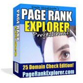 Product picture Page Rank Explorer Pro