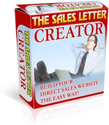 Product picture Sales Letter Creator