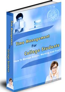Product picture Time Management For College Students