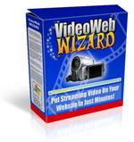 Product picture VideoWebWizard - Put Streaming Videos On Your Website In Just Minutes