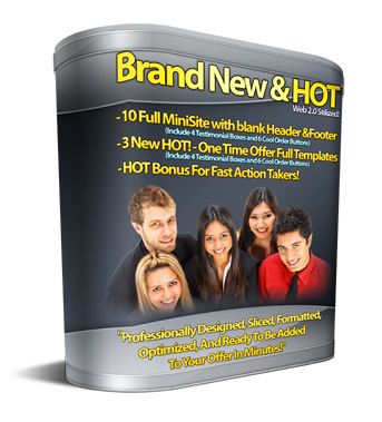 Product picture New Web 2.0 Templates Package