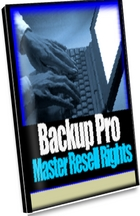 Product picture Backup Pro - Back-up Any Amount Of Folders And Files