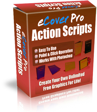 Product picture eCover Pro Action Scripts - Create Unlimited Free Graphics F