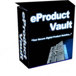 Product picture e-Product Vault - Protect Your Digital Files From Cyber Thieves
