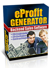 Product picture eProfit Generator - Backend Sales Automation Software