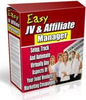 Product picture Easy JV & Affiliate Manager - Setup, Track And Automate Virtually Any Aspects Of Your Joint Venture Marketing Campaings