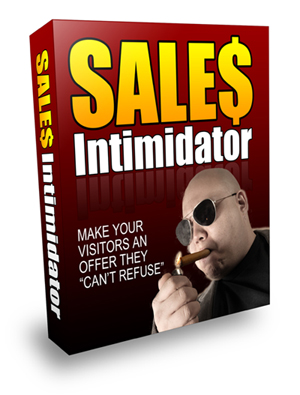 Product picture Sales Intimidator - Make Your Visitors an Offer They Cant Refuse