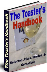 Product picture Toaster´s Handbook - Selected Jokes, Stories and Quotations