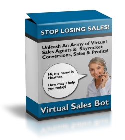 Product picture Virtual Sales Bot - Simple Interactive Exit Traffic Sales Ag