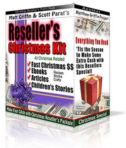 Product picture Resellers Christmas Kit - Graphics, Fast Cash Ideas, Childre